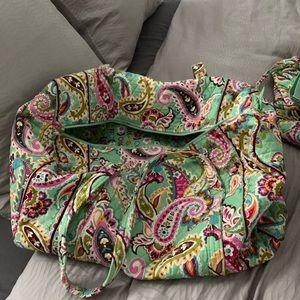 EUC Vera Bradley Large Duffle Bag